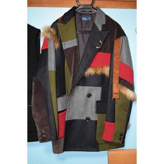 kolor - kolor 18aw パネルコート