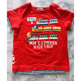 mikihouse - ミキハウス kids baby Tシャツ レッド