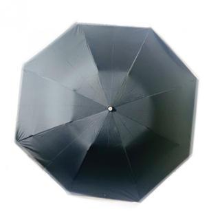 ポロラルフローレン(POLO RALPH LAUREN)の新品 ブラック 折りたたみ傘 メンズ レディース 無地(傘)