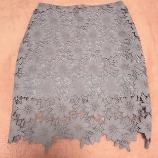 dholic - フラワーレース ❁ スカート