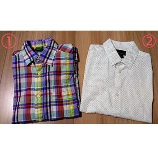 ユニクロ(UNIQLO)の半袖シャツ ユニクロ H&M Sサイズ 2点セット(シャツ)