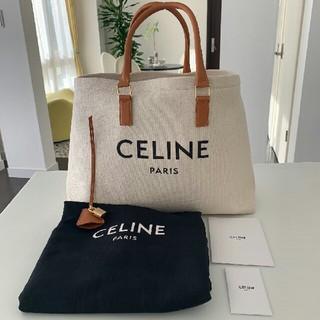 celine - 今週限定お値下げ!1回使用のみ CELINE ロゴプリント バッグ