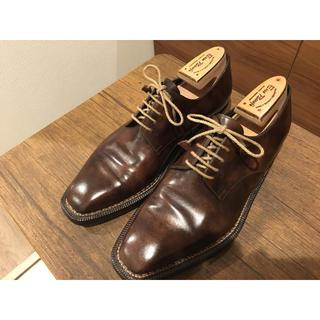 ENZO BONAFE - エンツォボナフェ 8 シューツリー・箱付き ミュージアムカーフ 革靴