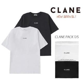CLANE HOMME パックTシャツ ブラック 完売品