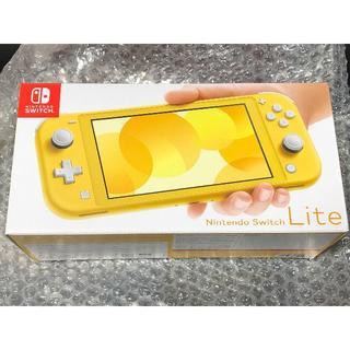 ニンテンドースイッチ(Nintendo Switch)の[即発送] Nintendo Switch Lite 本体 イエロー 新品未開封(携帯用ゲーム機本体)