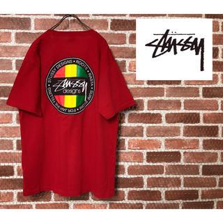 STUSSY - 80s90sステューシーSTUSSYTシャツ ヴィンテージ  ラスタ レゲエ