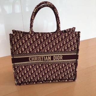 Christian Dior - ディオール Dior BOOKトート刺繍入りキャンバス 最終値下げ!