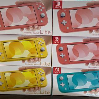ニンテンドースイッチ(Nintendo Switch)の☆SALE☆ ニンテンドースイッチ ライト 6台(家庭用ゲーム機本体)