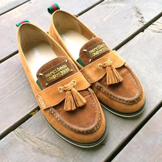 メルシーボークー(mercibeaucoup)のスエード タッセルローファー(ローファー/革靴)