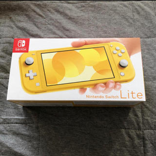 ニンテンドースイッチ(Nintendo Switch)の新品未開封 Nintendo switch Lite イエロー 緊急値下げ!(家庭用ゲーム機本体)