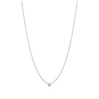 Tiffany & Co. - ティファニー バイザヤード YG 0.08ct