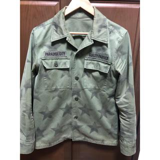 ワコマリア(WACKO MARIA)のワコマリア    ミリタリースタージャケットシャツ Sサイズ(ミリタリージャケット)