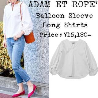 Adam et Rope' - 美品★定価¥1,5万★adam et rope★アダムエロペ★ブラウス★ホワイト