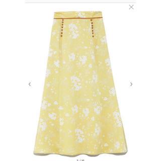 snidel - フラワースカート
