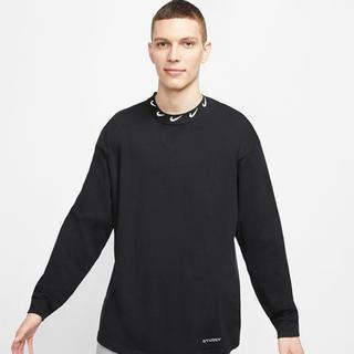 ステューシー(STUSSY)のNike × Stussy ロングスリーブ ニットトップ サイズ XS(Tシャツ/カットソー(七分/長袖))