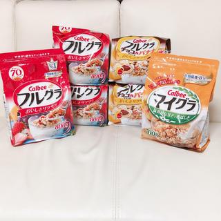 カルビー(カルビー)の新品 ♡ 即日発送 6袋セット フルグラ 800g(米/穀物)