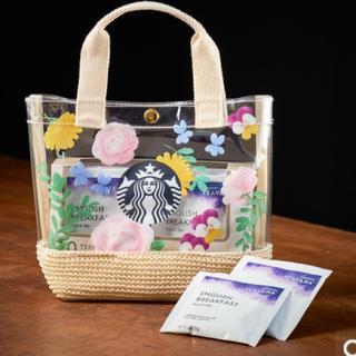 スターバックスコーヒー(Starbucks Coffee)のスターバックス ティバーナ™ イングリッシュ ブレックファスト ギフトセット(トートバッグ)