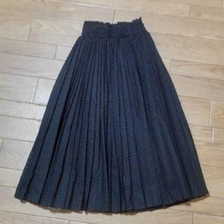 snidel - snidel パンチングプリーツスカート