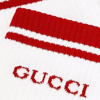 グッチ(Gucci)のGUCCI Socks Red(ソックス)