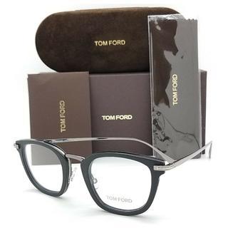 トムフォード(TOM FORD)の★スタイリッシュシルバー!★トムフォード TF5496 005 メガネ ブラック(サングラス/メガネ)