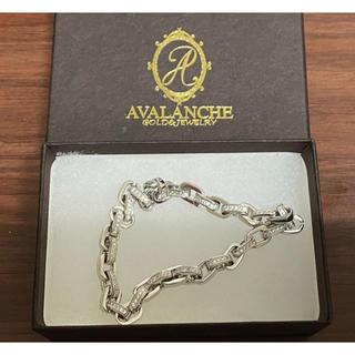 アヴァランチ(AVALANCHE)の未使用 AVALANCHE アヴァランチ silver 925 ブレスレット(ブレスレット)