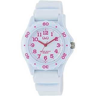 ホワイト ピンク[シチズン キューアンドキュー]CITIZEN Q&Q 腕時計