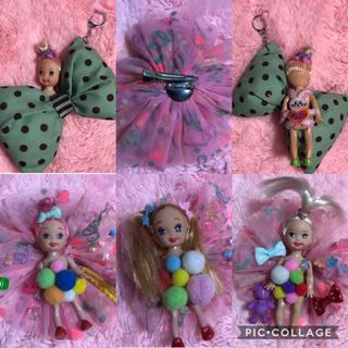 Barbie - バービー  ケリー バッヂ キーホルダー まとめ売り