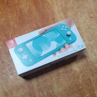 Nintendo Switch - Nintendo Switch  Lite ターコイズ フィルム貼り付け済