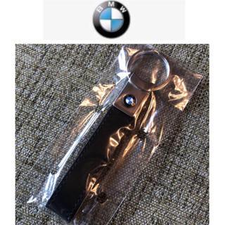 ビーエムダブリュー(BMW)の【新品未開封・クールモダンな上質】BMW キーホルダー 黒 ブラック チャーム(キーホルダー)