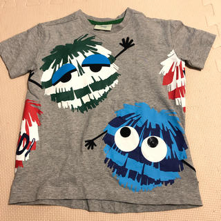 FENDI - FENDI グレーTシャツ100〜110くらい美品半袖 4歳児くらい