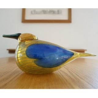 イッタラ(iittala)のiittala/イッタラ Annualバード 2004【スズガモ】黄色い鳥♪(置物)