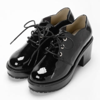マジェスティックレゴン(MAJESTIC LEGON)のマジェスティックレゴン スカラップボリュームシューズ(ローファー/革靴)