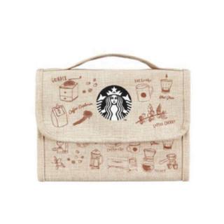 スターバックスコーヒー(Starbucks Coffee)のスターバックス 韓国限定 トラベルポーチ(ポーチ)