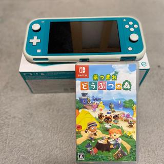 Nintendo Switch - ニンテンドーSwitchライト(スイッチライト)あつまれどうぶつの森セット