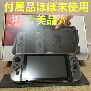 Nintendo Switch - 【中古美品】Nintendo switch 本体 グレー 旧モデル