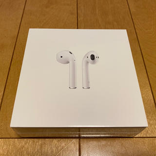Apple - 第2世代 新品 未開封品 Apple AirPods MV7N2J/A 正規品
