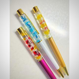 フランフラン(Francfranc)のハーバリウム♡ボールペン 1本¥500(ペン/マーカー)