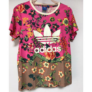 アディダス(adidas)のadidas originals 花柄 Tシャツ(Tシャツ/カットソー(半袖/袖なし))