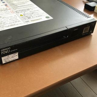 オムロン(OMRON)の☆即購入可☆ 無停電電源装置 オムロン UPS POWLI BX35F(PC周辺機器)