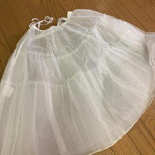 パニエ 結婚式 パーティドレス 白 バレエ コスプレ ドレス下着(その他ドレス)