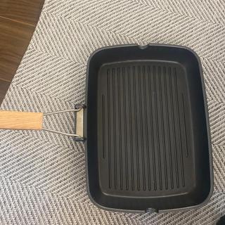 イケア(IKEA)のグリルパン IKEA(鍋/フライパン)
