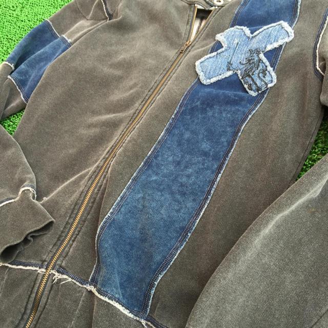 DIESEL(ディーゼル)のDIESEL 未使用 レア物 M レディースのジャケット/アウター(ライダースジャケット)の商品写真