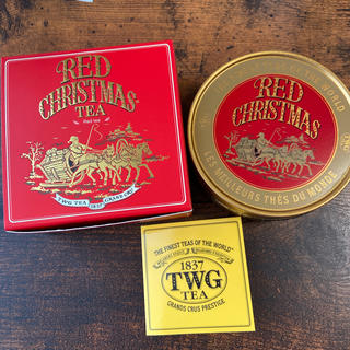 TWG レッドクリスマスティー(茶)