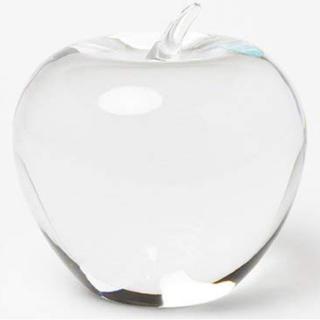 ティファニー(Tiffany & Co.)のTIFFANY&Co./ティファニー*クリスタル アップルりんごペーパーウエイト(置物)