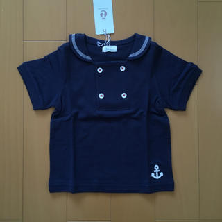 コンビミニ(Combi mini)のコンビミニ  新品 90 セーラー トップス カノコ(Tシャツ/カットソー)