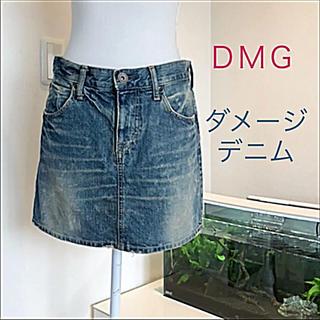 アングリッド(Ungrid)のDMG☆デニムスカート♡ダメージ加工がオシャレ♪(´∀`*)(ミニスカート)