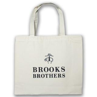 ブルックスブラザース(Brooks Brothers)の新品☆BROOKS BROTHERS ホワイト トートバック コットン(トートバッグ)