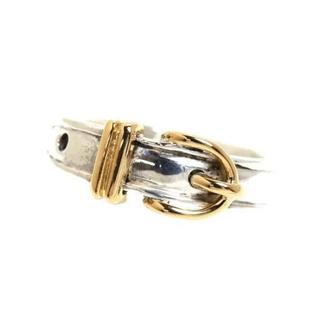 エルメス(Hermes)のHERMES vintage ブックルセリエ silver925×18k 750(リング(指輪))