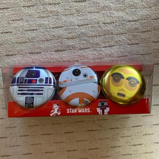 Disney - スターウォーズ⭐️丸缶セット(お菓子無し)