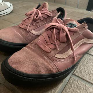 ヴァンズ(VANS)のvans・サンタクルーズコラボ 国内正規品 限定品 pinkスニーカー(スニーカー)